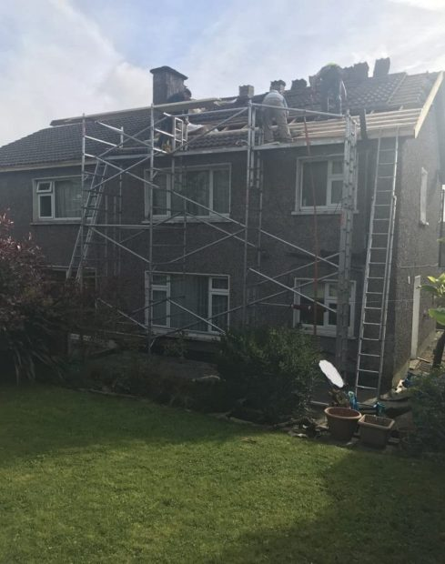 Semi Detached House Re-Roofing Cork