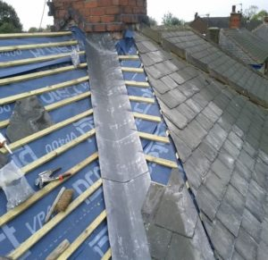 Lead Valleys Roofing Cork
