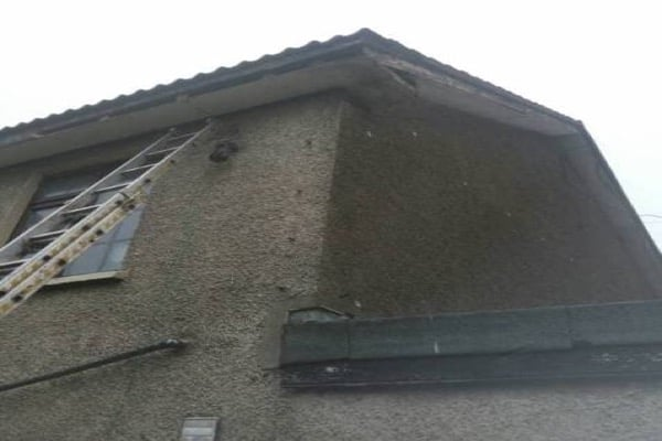 2 Storey Fascia and Soffit Repair Cork