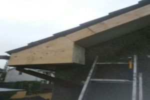 Replaced Timber upvc fascias and soffits repairs Cork