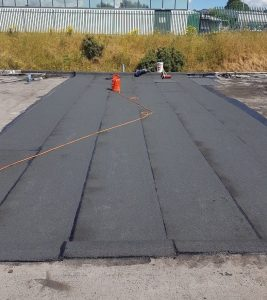 Factory Flat Roofing Cork
